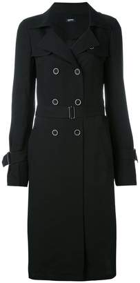 Jil Sander Navy Summer double-breasted coat