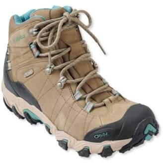 L.L. Bean L.L.Bean Women's Oboz Bridger Waterproof Hiking Boots, Insulated
