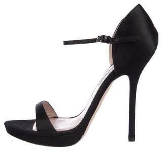 Miu Miu Satin High Heel Sandals