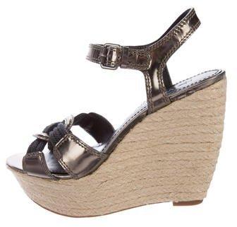Vera Wang Espadrille Wedge Sandals