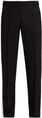 Valentino Striped-side wool track pants