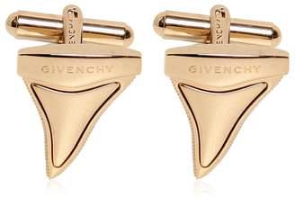 Givenchy Brass Shark Teeth Cufflinks