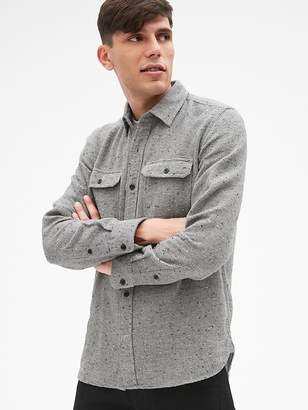 Gap Cozy Textured Overshirt