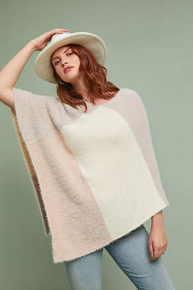 Anthropologie Jordan Colorblocked Poncho