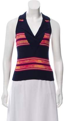 Missoni Striped Sleeveless Top
