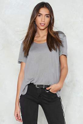 Nasty Gal Loosen Up Relaxed Tee