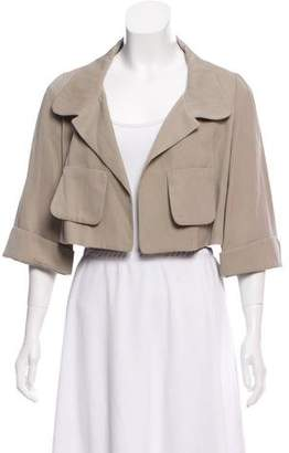 Marni Cropped Three-Quarter Sleeve Jacket