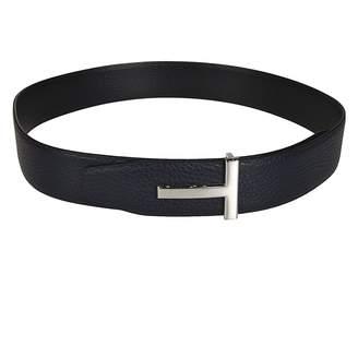 Tom Ford Metallic T-buckle Belt