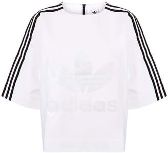 adidas Structured Logo Printed T-Shirt