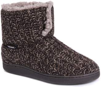 Muk Luks Women's Sean Brown Slipper