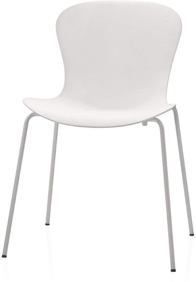 Fritz Hansen – Nap Stuhl KS50, Milk White / Gestell weiß lackiert