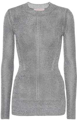 Christopher Kane Metallic jersey sweater
