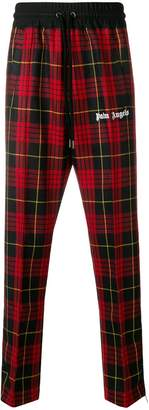 Palm Angels plaid track pants