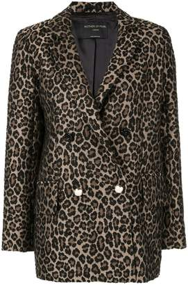 Mother of Pearl leopard print blazer