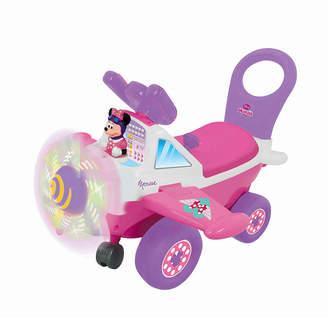 Kiddieland Disney Minnie Mouse Plane Light And Sound Activity Ride On