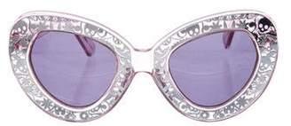 Karen Walker Intergalactic Oversize Sunglasses