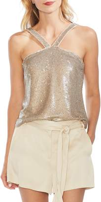 Vince Camuto Sequin Sleeveless Top