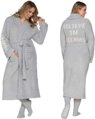 Barefoot Dreams Cozychic Inspiration Robe with Socks
