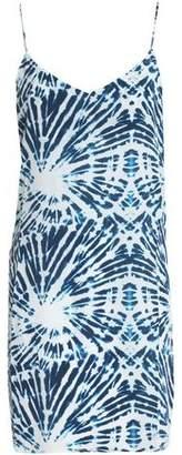 Mikoh Costa Rica Tie-Dyed Silk Mini Dress