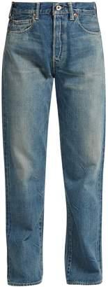 Chimala Selvedge-denim straight-leg jeans