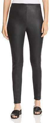 Elie Tahari Roxanna Leather Leggings