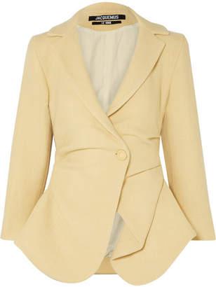 Jacquemus Saad Wool-blend Blazer