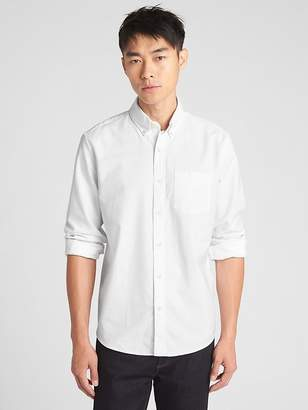 Gap Untucked Oxford Shirt in Stretch