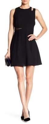 19 Cooper Fit & Flare Cutout Dress