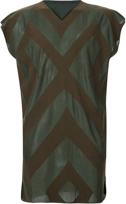 Issey Miyake Homme Plissé geometric pattern vest