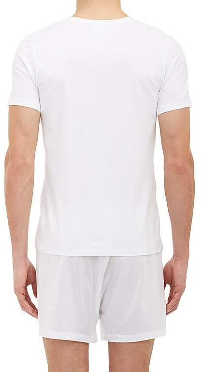 Hanro Men's Superior V-Neck T-shirt