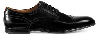Gucci Leather lace-up with Web