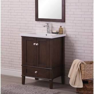 "Andover Mills Modena 24"" Single Bathroom Vanity Set Base"