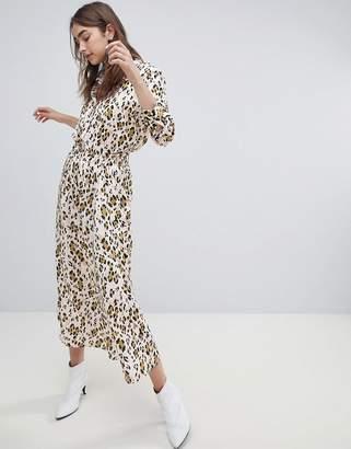 Gestuz leopard skirt