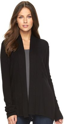 Women's Apt. 9® Smocked Open Front Cardigan $44 thestylecure.com
