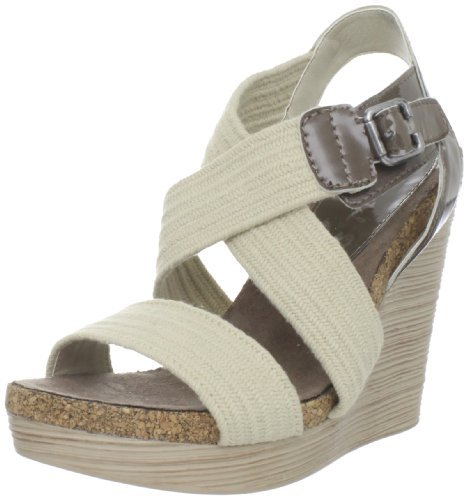 Gunmetal Women's Nora Wedge Sandal