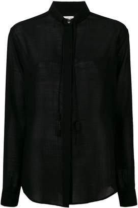 Saint Laurent tassel detail shirt
