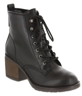 Mia Liam Lace-Up Boots Women's Shoes