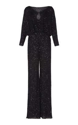 4adec9314d8 Jenny Packham Babette Long Lined Sequin Jumpsuit