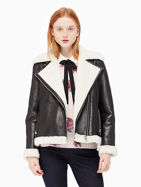 Kate SpadeShearling coat