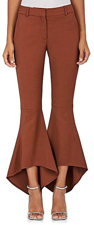 Sies Marjan Women's Roxy Stretch-Twill Flared Pants