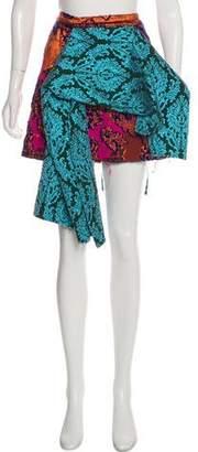 Marques Almeida Marques' Almeida Jacquard Knee-Length Skirt