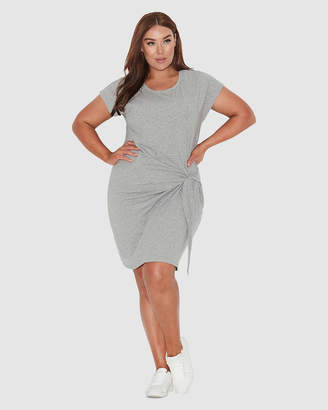 Basic Tie Front Dress
