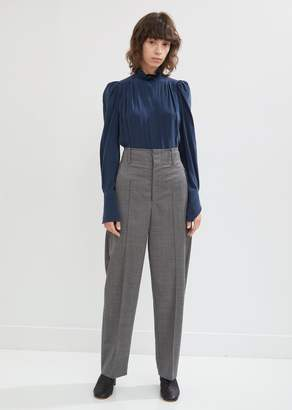 Isabel Marant Hami High Waisted Loose Wool Trouser