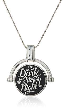 Alex and Ani 'A Wrinkle in Time' Dark and Stormy Night Spinner Expandable Necklace