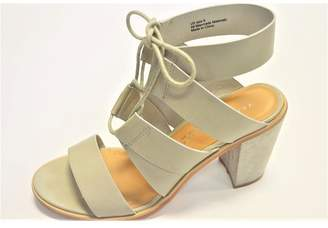 Very Volatile Grey Strappy Sandals