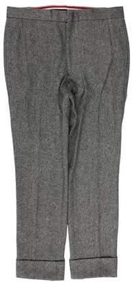 Thom Browne Wool Herringbone Pants