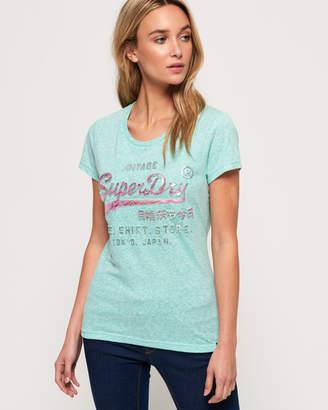 Superdry Shirt Shop Infill Emboss T-Shirt