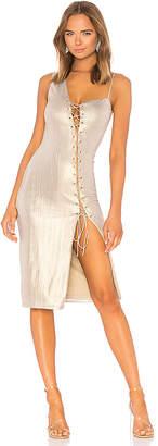 h:ours Danae Midi Dress