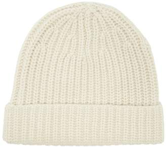 Joseph Ribbed wool beanie hat