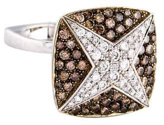 Mauboussin 18K Diamond String Star Ring